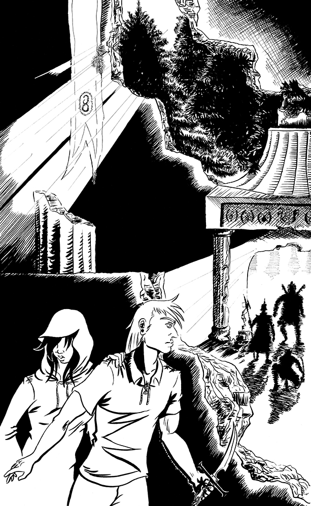 Citadel Chapter 1 – Back Cover Inks